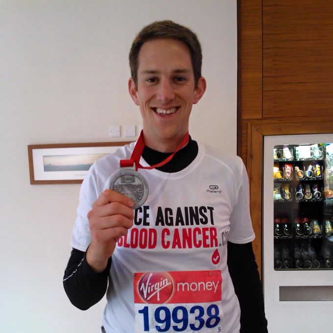 Alex's London Marathon Challenge for Delete Blood Cancer & Race Against Blood Cancer
