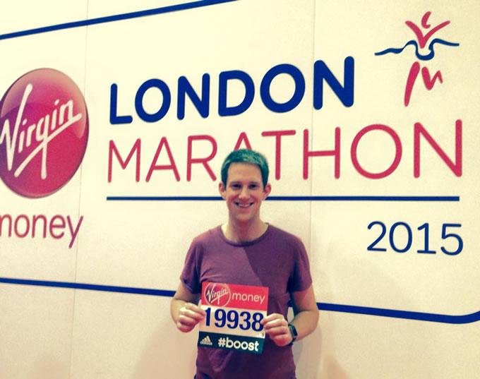 Alex's London Marathon Challenge for Delete Blood Cancer & Race Against Blood Cancer