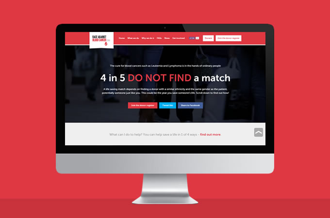 Race Against Blood Cancer website goes live!