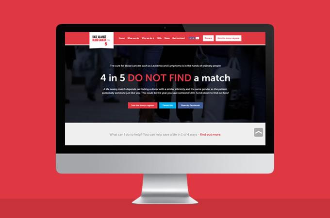 Race Against Blood Cancer website goes live!
