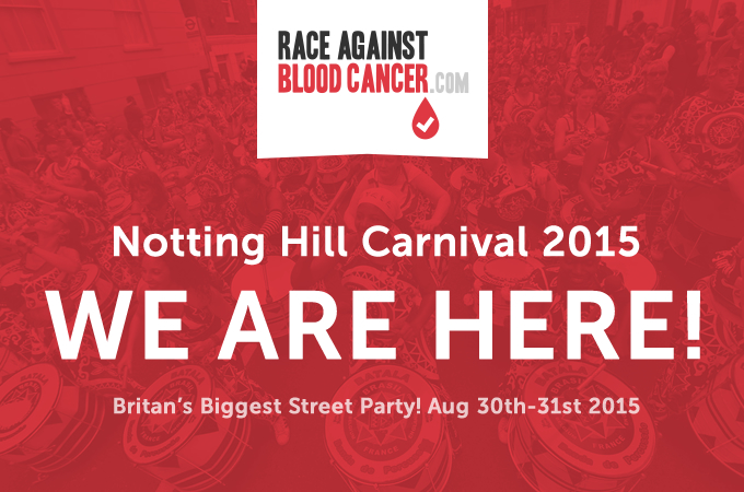 Race Against Blood Cancer at Notting Hill Carnival