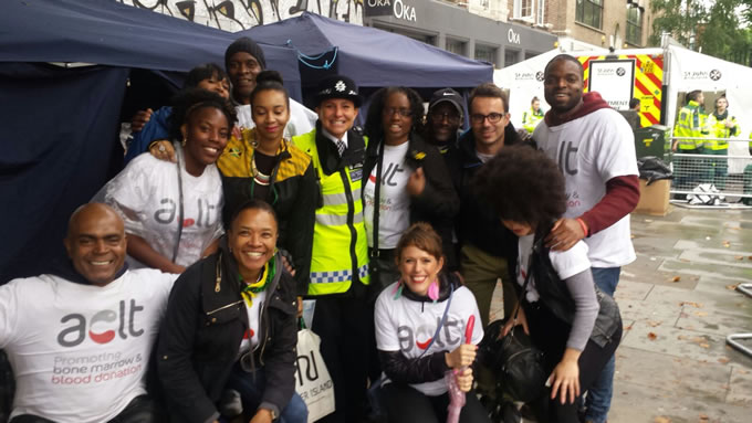 Race Against Blood Cancer with ACLT at Notting Hill Carnival