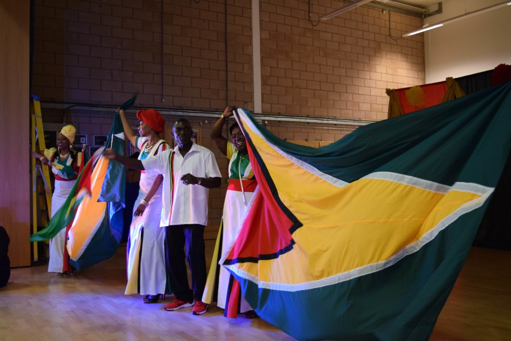 Presentations, speakers and animation at the Guyana Festival