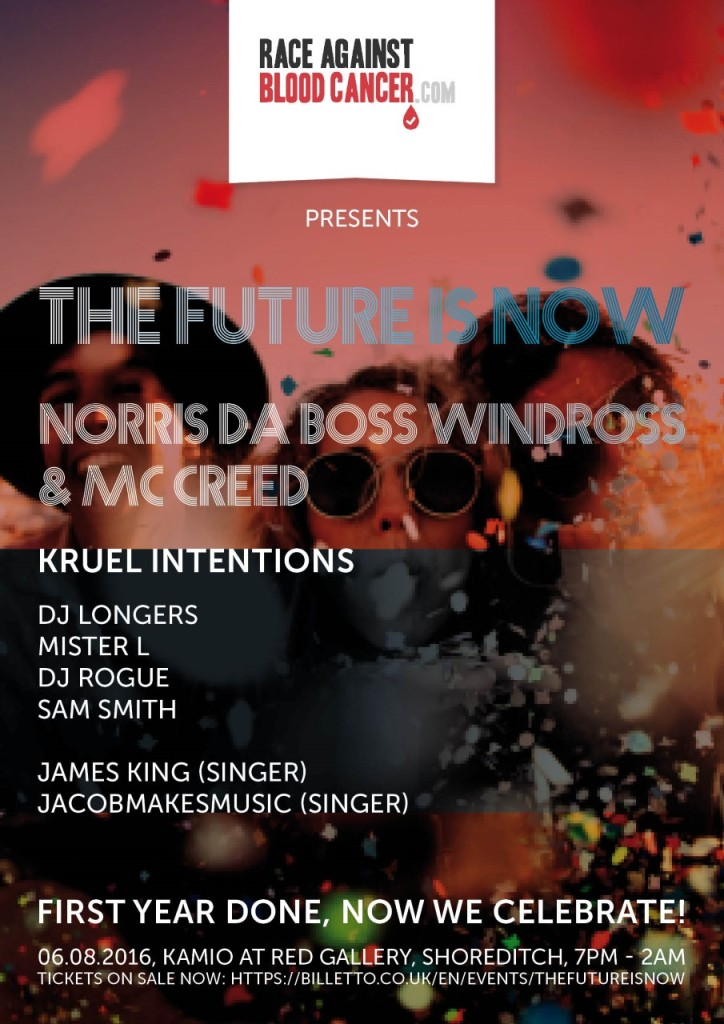 THE FUTURE IS NOW Line Up 2