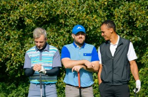 Golf players at our Annual Charity Golf Tournament