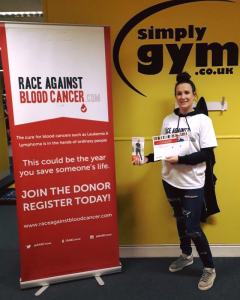 Gemma Elsmore - Community Engagement Officer at Race Against Blood Cancer