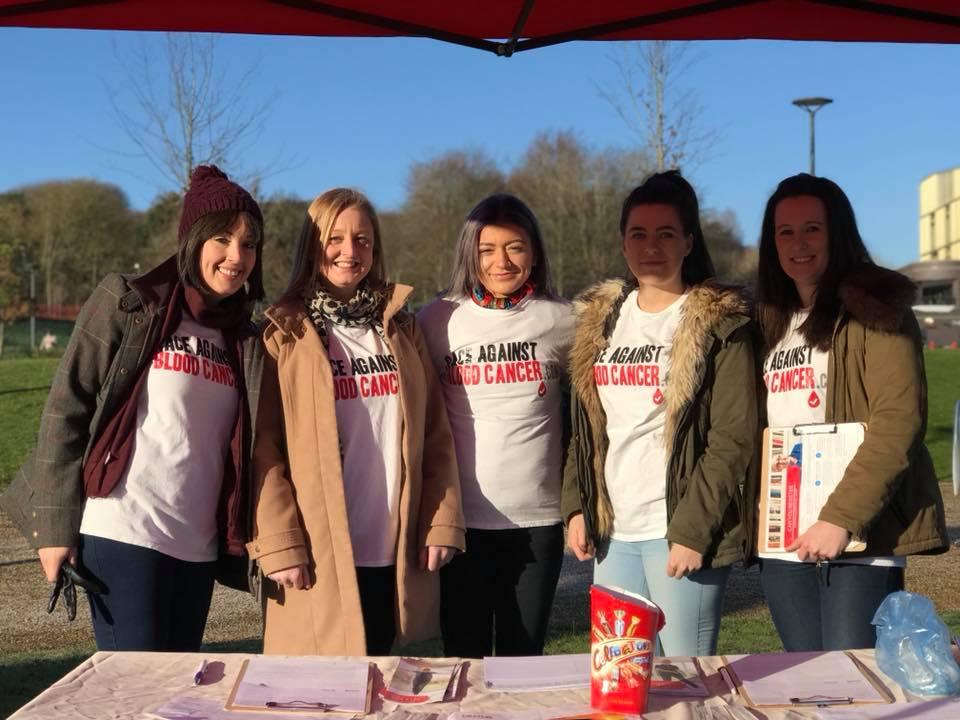 Donor drive volunteers in Telford