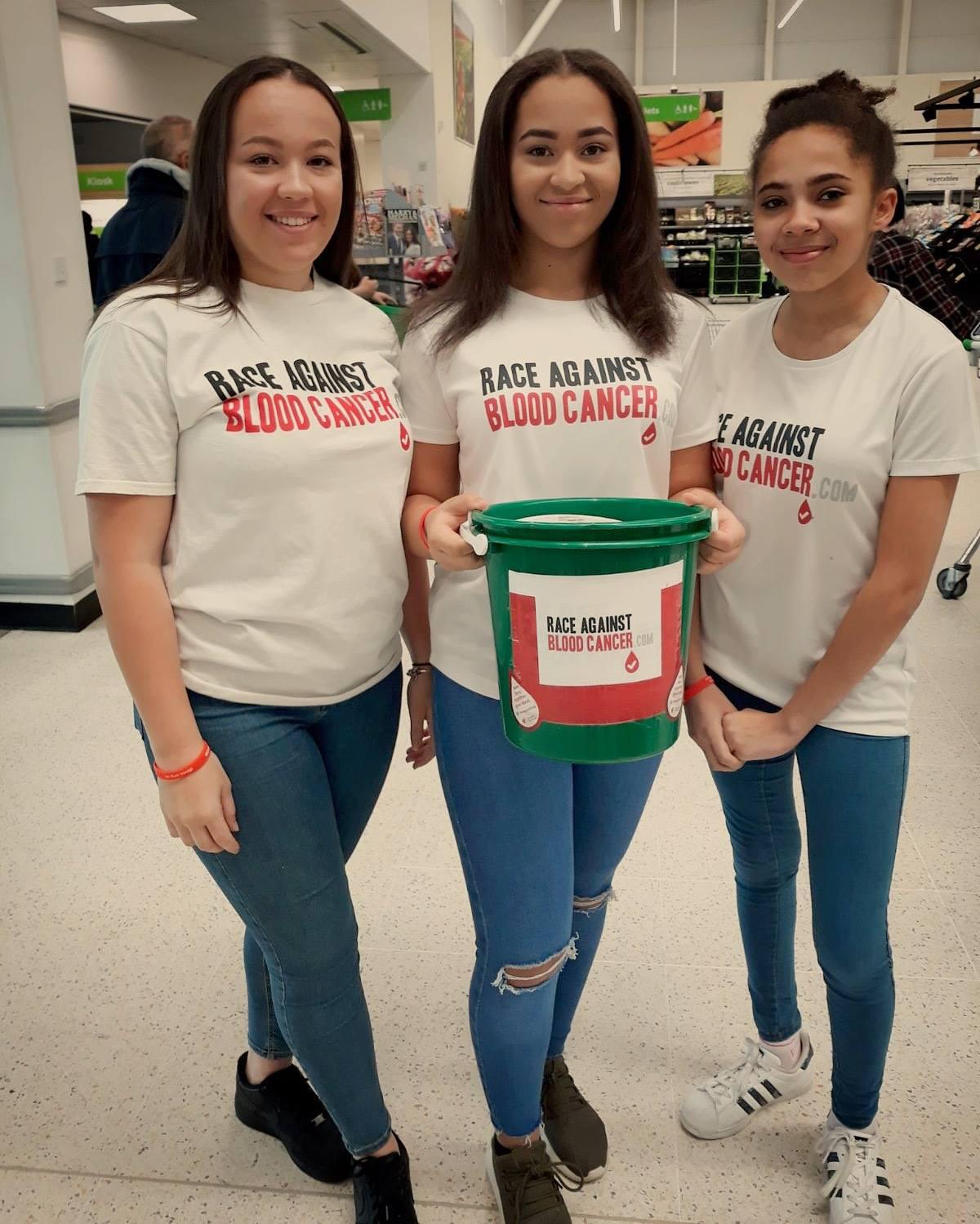Volunteers in Asda Donnington