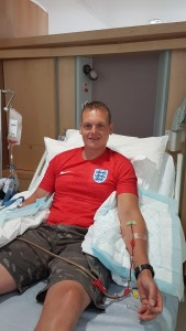Stuart Donating Stem Cells