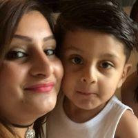 Ihsan and Mum square